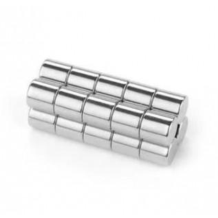Магнит NdFeB N38 5х8 мм - сила сцепления: 0.75 кг
