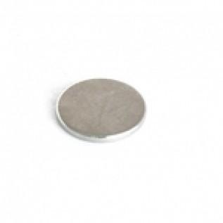 Магнит NdFeB N38 12х1,5 мм сила сцепления: 0.80 кг
