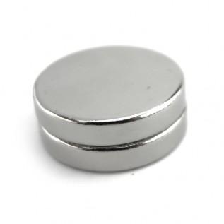 Магнит NdFeB N38 15х1,5мм сила сцепления: 1.50 кг
