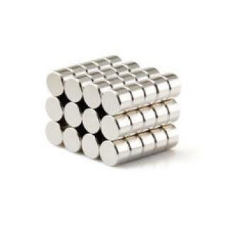 Магнит NdFeB N38 3х3 мм - сила сцепления: 0.25 кг