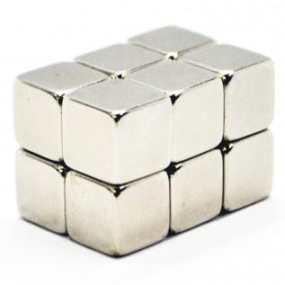 Магнит NdFeB N38 6x6x6 сила сцепления: 2 кг
