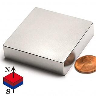 Магнит NdFeB 3х3х1 N50 сила сцепления: 0.23 кг