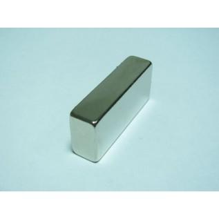 Магнит NdFeB N38 40х15х10 мм сила сцепления: 18.00 кг