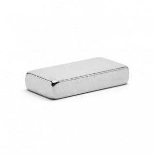 Неодимовый магнит прямоугольник 20х10х4 мм сила сцепления: 4.0 кг