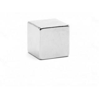 Неодимовый магнит куб 7х7х7 мм сила сцепления: 2.5 кг