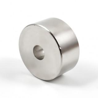 Магнит NdFeB N38 D100-d20xh20 сила сцепления: 250.00 кг