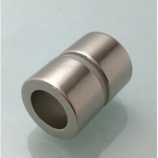 Магнит NdFeB N38 D40-d25хH20 сила сцепления: 44.00 кг