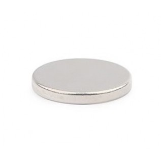 Неодимовый магнит диск 14х2 мм сила сцепления: 2,1 кг