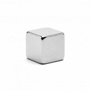 Неодимовый магнит куб 8х8х8 мм сила сцепления: 3.7 кг