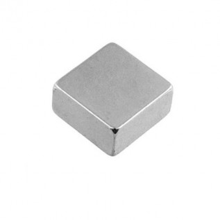 Неодимовый магнит квадрат 10х10х5 мм сила сцепления: 3 кг