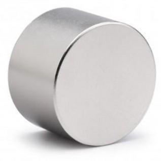 Неодимовый магнит диск 40x20 мм сила сцепления: 67 кг