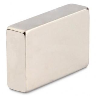 Неодимовый магнит прямоугольник 6,5х4х4,5 мм сила сцепления: 1.5 кг