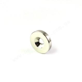 Магнит с зенковкой D15-d7,5/4,5*h3 мм