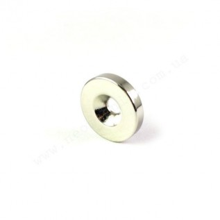Магнит с зенковкой D20-d7/3,5*h3 мм