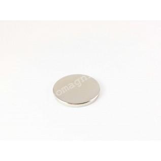 Маленький неодимовый магнит D17*H2