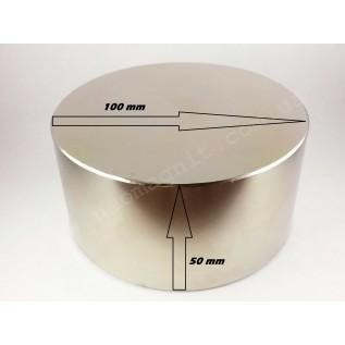 Неодимовый магнит - шайба D100*H50