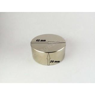 Неодимовый магнит - шайба D45*H20