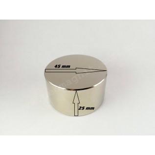 Неодимовый магнит - шайба D45*H25