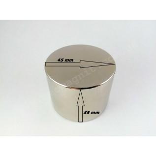 Неодимовый магнит - шайба D45*H35
