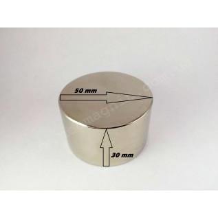 Неодимовый магнит - шайба D50*H30