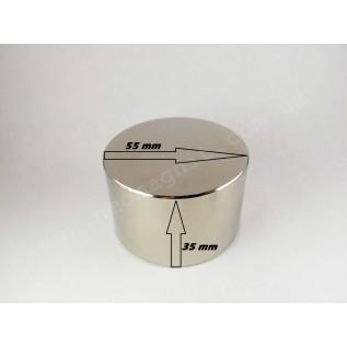 Неодимовый магнит - шайба D55*H35