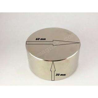 Неодимовый магнит - шайба D60*H30