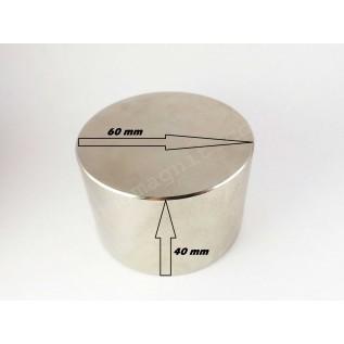 Неодимовый магнит - шайба D60*H40