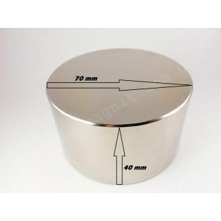 Неодимовый магнит - шайба D70*H40
