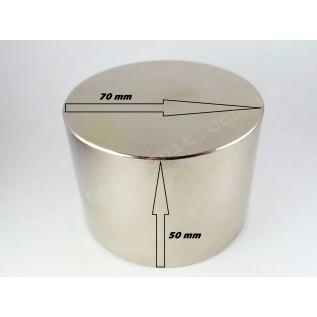 Неодимовый магнит - шайба D70*H50