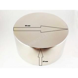Неодимовый магнит - шайба D90*H50