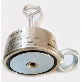 Двухсторонний поисковый магнит Тритон на 300 кг