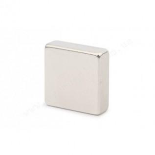 Неодимовый магнит - квадрат D30*D30*H10